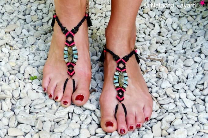 Sandales bijoux, elles mettent vraiment en valeur vos pieds