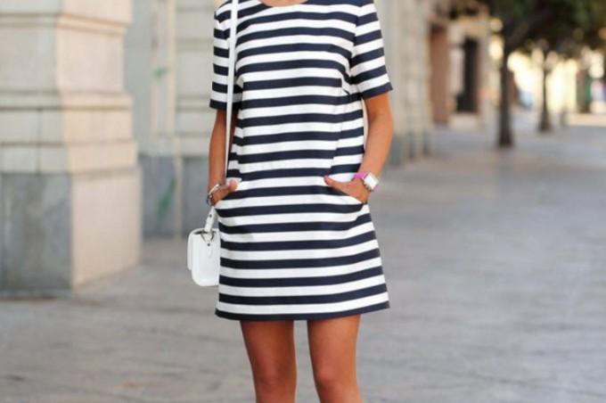 Robe marinière : elle est adorable pour tous les styles