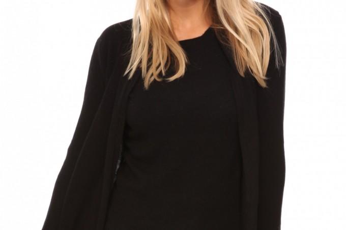 Gilet long noir femme, habiller sa tenue