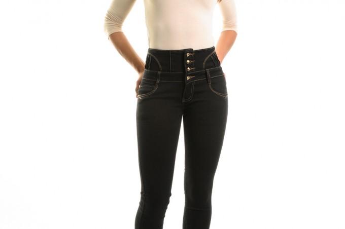 Jean femme taille haute, le bon modèle