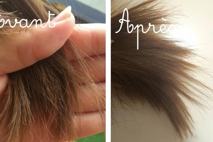 Lait de coco sur cheveux: adoucir les pointes