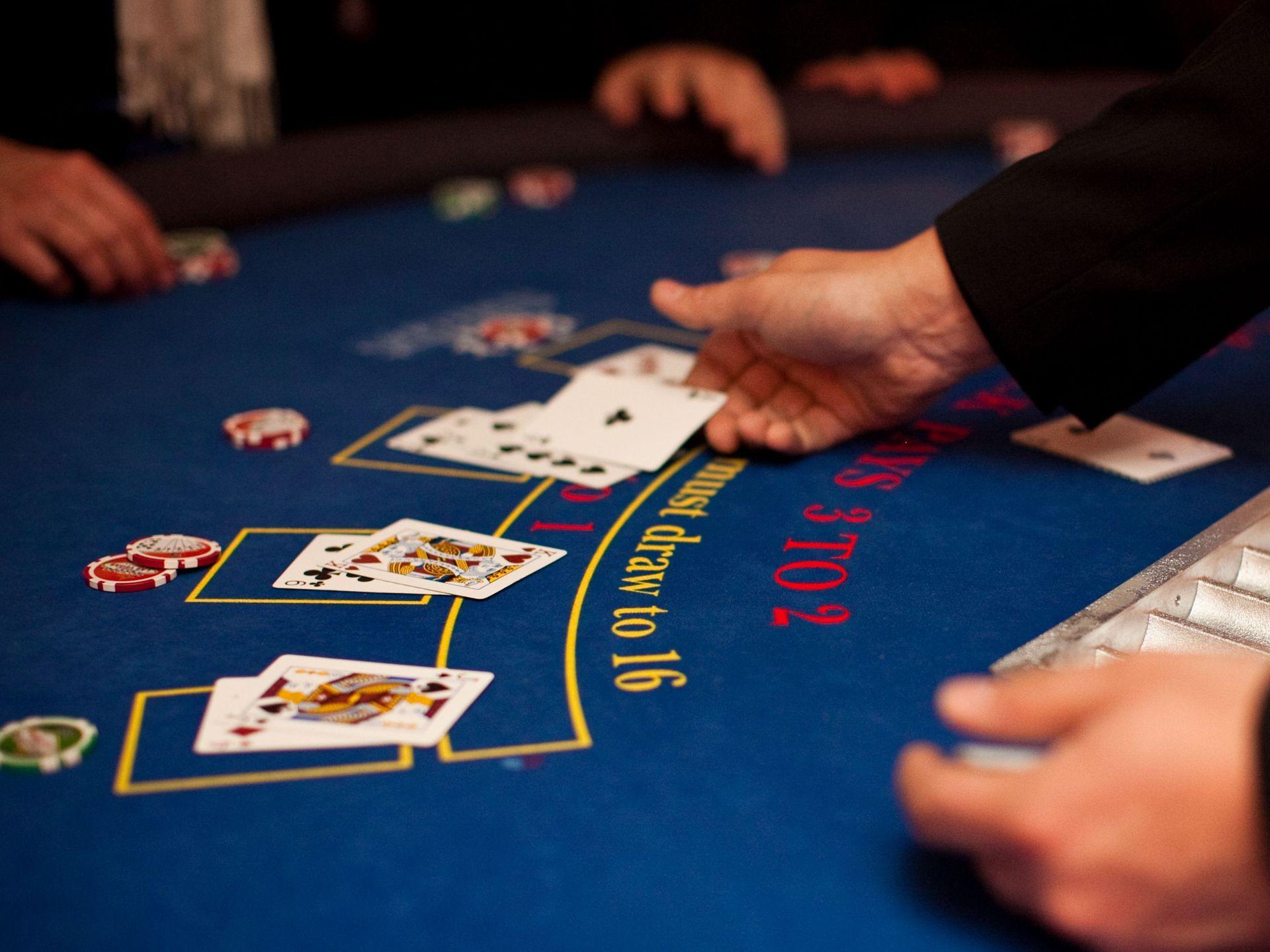 Les règles à respecter au blackjack